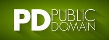 PD - Public Domain Acronym, Co...