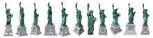 US Statue Of Liberty Set Drawi...