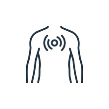 Chest Vector Icon Isolated On ...
