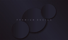 Abstract Modern Black Luxury D...