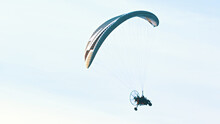 Tandem Paramotor Gliding - Two...