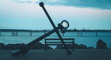 Moonrise Through The Eye Of An Anchor