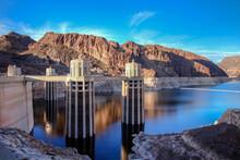 Hoover Dam Panorama Nevada USA