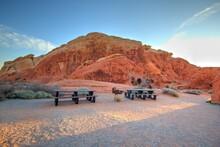 Desert Picnic. Picnic Area At ...