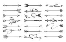 Curved Arrows Sketch