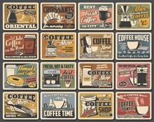 Coffee Retro Posters, Coffee M...