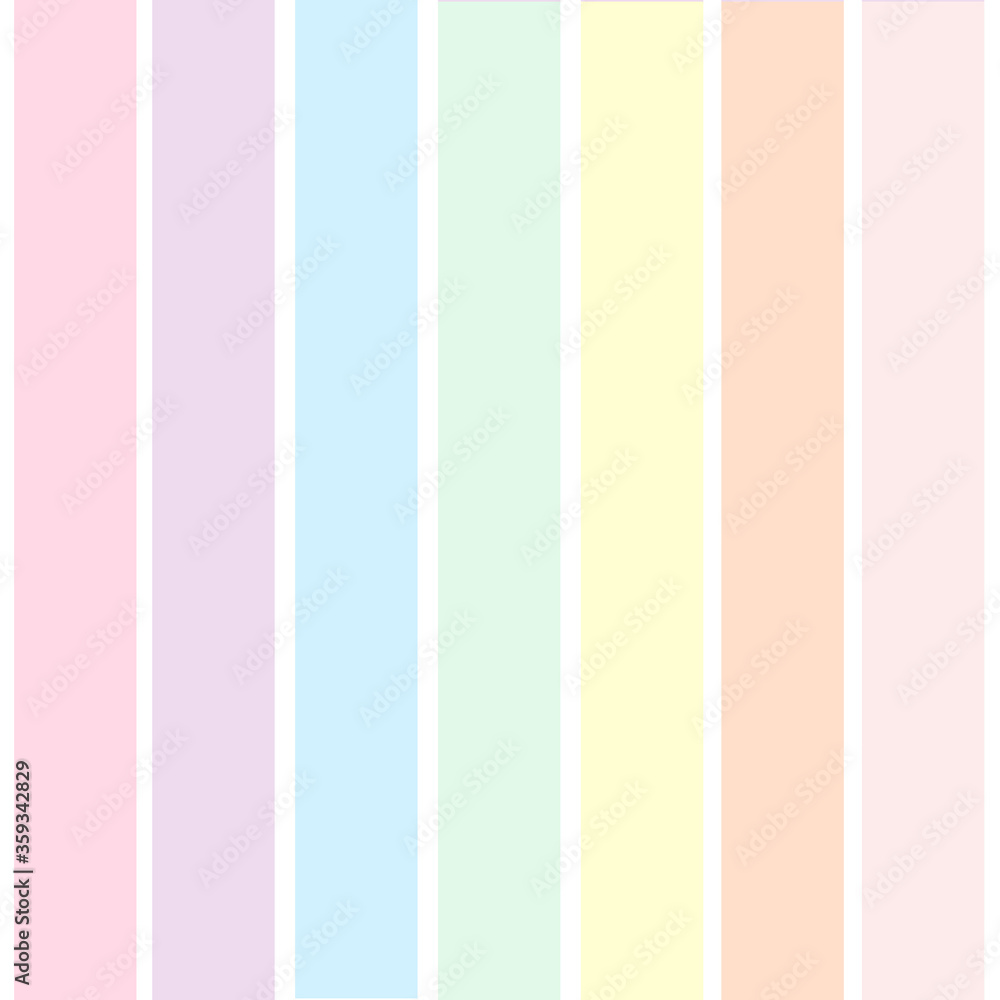 Rainbow color background abstract illustration - Vector striped template