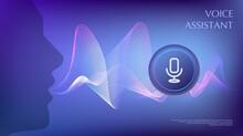 Person Using Voice Control. Vi...