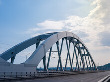 Steel Arch Of The Combined Roa...