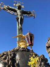Crucifix Featuring Jesus Image...