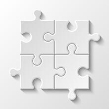 Puzzle Piece Business Presenta...