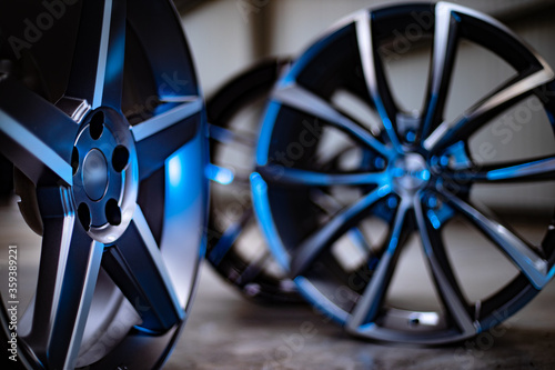 Alloy wheels concept advertising vision Canvas Print