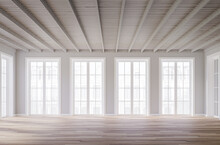 Classical Style Empty Room Int...