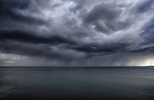 Storm Clouds Over The Atlantic...