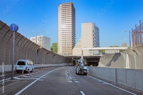 Fototapeta 飛鳥山トンネル