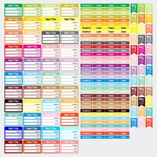 Meal Sticker Planner