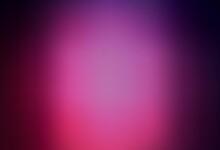 Dark Pink Vector Blurred Backg...