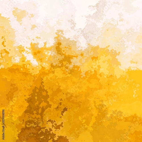 abstract stained pattern texture square background gold yellow ochre beige color Canvas-taulu