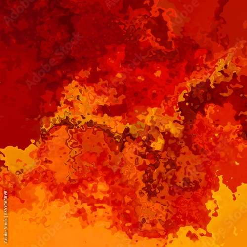 Valokuva abstract stained pattern texture square background hot fire red orange yellow co