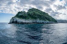 Gallinara Chicken Island In Liguria Italy