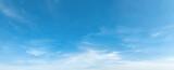 Fototapeta Na sufit - panorama blue sky with cloud and sunshine background