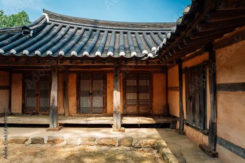 Fotografie, Tablou Gyodong Hyanggyo Confucian School in Ganghwa-gun, Incheon, Korea