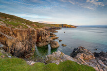 Late Evening On The Cliffs At ...