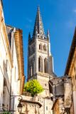 Saint-Emilion in east Bordeaux, Francie