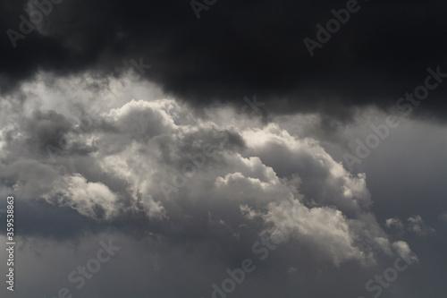 Foto Burzowa chmura