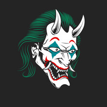 Joker Oni Mask
