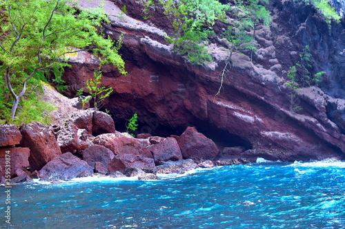 Fotografie, Tablou Red ricks in Hawaii