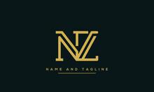 NZ ,ZN ,N ,Z Letter Logo Desig...