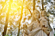 Statue Of Our Lady And Child J...