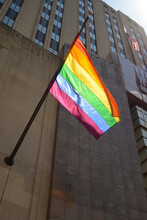 Pride Flag Flying