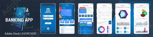 Foto Design mobile app UI, UX, KIT