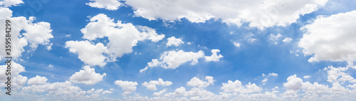 Fotografia, Obraz Panorama blue sky and clouds with daylight natural background.