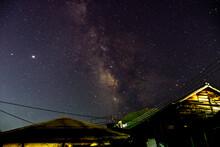 Starry Night Sky Over In Beppu...