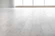 Leinwandbild Motiv View of clean laminate floor in empty room