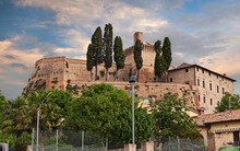 Meldola, Forli-Cesena, Emilia Romagna, Italy: The Ancient Fortress In The Old Town