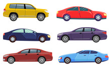 Cars Automobile Vector, Isolat...