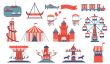 Various Amusements And Carouse...