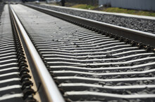 Track System On Concrete Sleepers