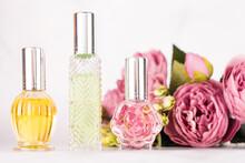 Different Transparent Perfume ...