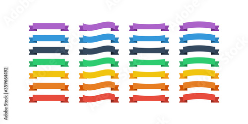 Fotografie, Obraz Ribbons Banners