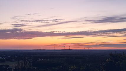 Sunset at Halde Hanie