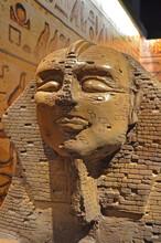 "Chocolate Sculpture Of The Egyptian Great Sphinx At The Museum ""Mundo Do Chocolate"" (Chocolate World), Gramado, Rio Grande Do Sul, Brazil"