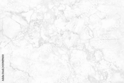 Obraz White grey marble texture background with high resolution, top view of natural tiles stone floor in luxury seamless glitter pattern for interior and exterior decoration. - fototapety do salonu