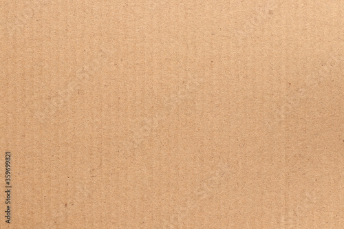 Brown cardboard sheet abstract background, texture of recycle paper box in old vintage pattern for design art work Fotobehang