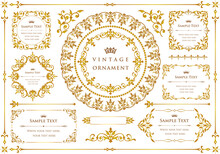 Vector Set Of Vintage Design E...