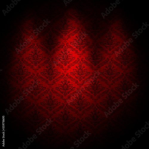 baroque wallpaper background - 359718695